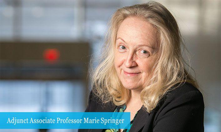 Adjunct Associate Professor Marie Springer's New Book Provides an In-Depth Look at Ponzi Schemes