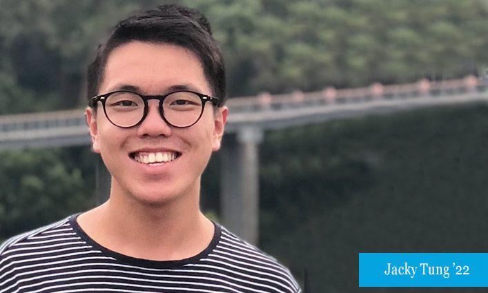 Environmental Action: Climate Ambassador Jacky Tung '22 Urges Everyone to Make Their Behaviors Greener