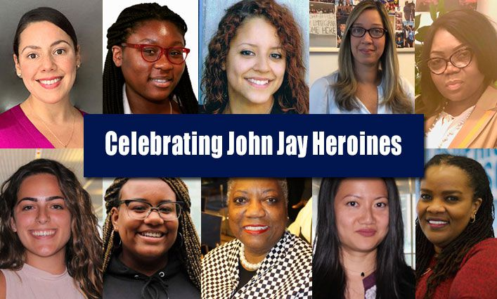 Students, Faculty, and Staff Recognize John Jay College Heroines in Celebration of Women's History Month