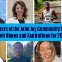 Members of the John Jay Community Share Their Hopes and Aspirations for 2021
