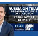 "Watch MSNBC's ""The Beat with Ari Melber"" on Fri., Nov. 24 at 6 pm featuring John Jay students!"