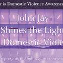 John Jay Goes Purple for Domestic Violence Awareness
