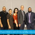 John Jay Recognizes Student-Veterans at the SALUTE Veterans National Honor Society Induction Ceremony