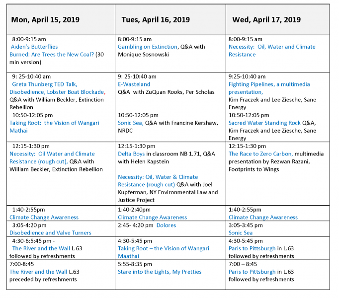 Final 2019 Schedule